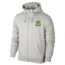 Ballymena Shamrock Celtic Supporters Club Full Zip Hoodie -Grey Youth 2018